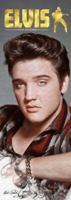 Elvis Presley Official Slim 2018 Wall Calendar The King of Rock and Roll NEW