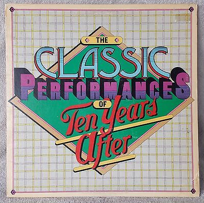 """TEN YEARS AFTER 1976 The Classic Performances Of 12"""" Vinyl 33 LP Compilation VG"""