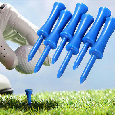 50pc/pack 68mm Professional Plastic Step Down Castle Golf Tees Height Control
