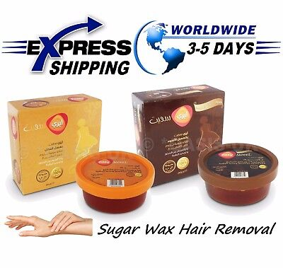 100% Natural 220 gm Sugaring Sugar Wax Hair Removal Honey & Molasses Sweet Paste