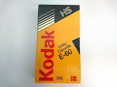 KODAK HS E-60 VHS Blank Tape PAL SECAM SEALED