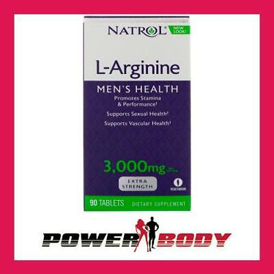 Natrol - L-Arginine, 3000mg - 90 tablets