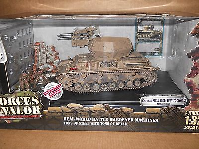 1:32 Forces of Valor WWII German Flakpanzer IV Wirbelwind Normandy 1944 80027