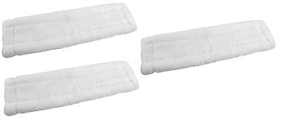 3 x KARCHER WV50 Window Vacuum Cloths Covers Spray Bottle Glass Vac Cleaner Pads