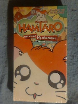 "Viz Video. ""Hamtaro"" VHS Tape. Sealed. Vol.1. 1st 3 Episodes."
