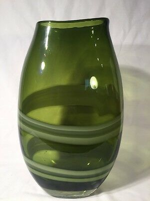 Very Large Murano Style Art Glass Vase (ref W155)