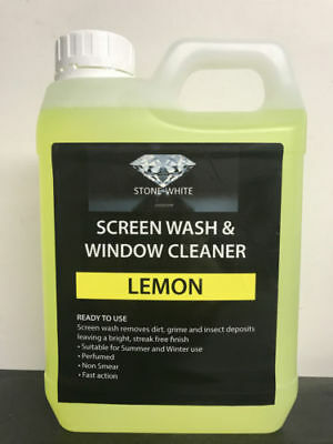 1L Lemon Screenwash Concentrated Car Windscreen Washer Fluid FREE DELIVERY