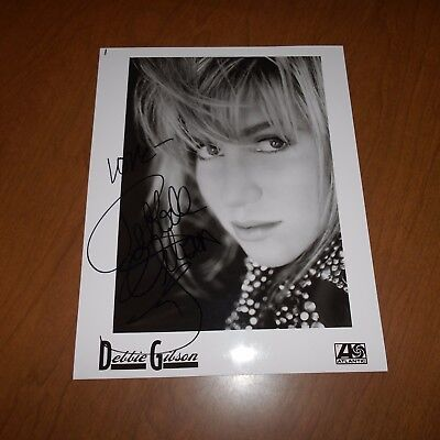 Debbie Gibson is an American singer-songwriter, record produce Hand Signed Photo