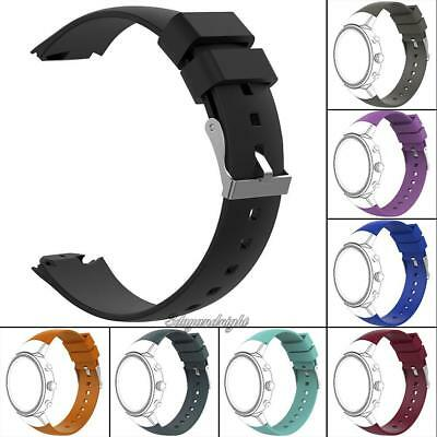 22mm Silicone Watch Band Wrist Bracelet Strap Replacement for ASUS ZenWatch 3