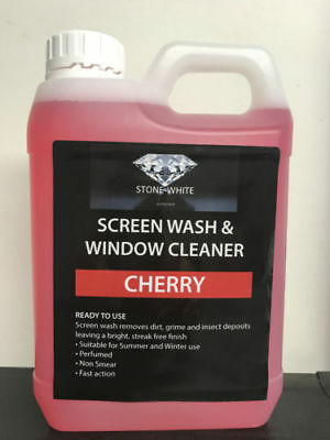 1L Cherry Screenwash Concentrated Car Windscreen Washer Fluid FREE DELIVERY
