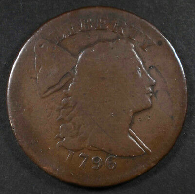 1796 Liberty Cap Large Cent, G  Nice
