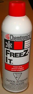 15 oz. Spray Can of Freez-It PCB Components Freeze Spray (Chemtronics ES1550)