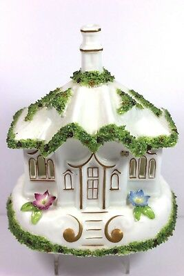 "Vtg. Coalport  "" THE GATE HOUSE "" Fine Bone China England Pastille Burner MINT"