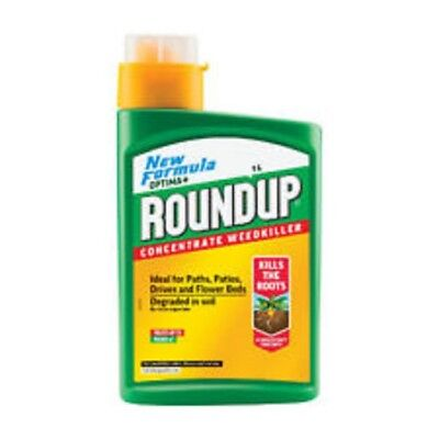 Roundup Optima+ Weedkiller Concentrate 1lt