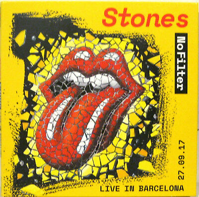 """ROLLING STONES """"LIVE IN BARCELONA"""" double cd digipack unplayed new"""