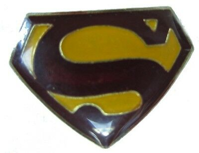 Comic  Pin / Pins:   SUPERMAN - Emblem / Logo   -   Kult & selten