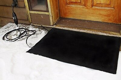 Residential Snow Melting Heated Door Mat DM24x36C-RES 180 W 2 ft W x 3 ft L