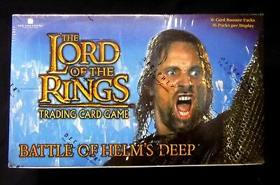 Lord Of The Rings Battle of Helm's Deep CCG Decipher Booster Box New .