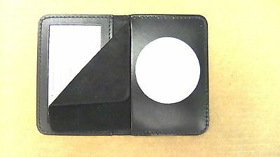 "Bail Enforcement Agent Badge & ID Case Holder 2 1/8"" Diameter Circle CT-14"