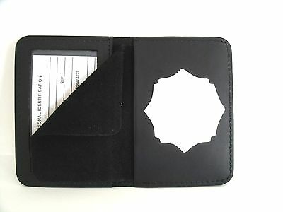 Watertown Fire Dept. Tennessee Shield & ID Case Holder Cut Out CT-14 LG Leather