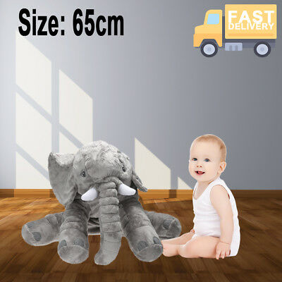 EXTRA LARGE Elephant Pillow Plush Doll Toy Baby Sleep Pillow Elephant Plush USA