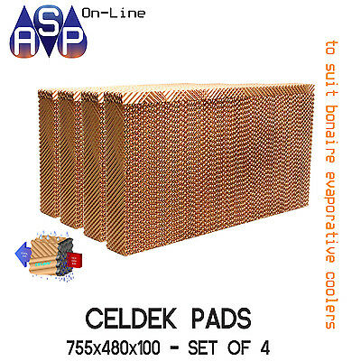 Bonaire Celdek Filter Pads - #cel54 - (Set Of 4)