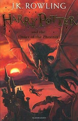 Harry Potter and the Order of the Phoenix: 5/ by J.K. Rowling New Paperback Book