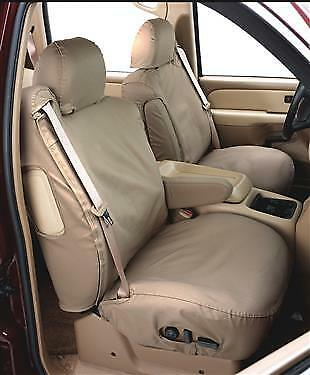 Covercraft Rear Seat Bench SeatSaver Seat Covers SS8357PCTP Taupe