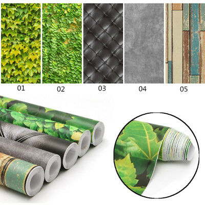 Modern Wall Roll Mural Decal Self Adhesive Wallpaper Film Sticker Decor 40*320cm