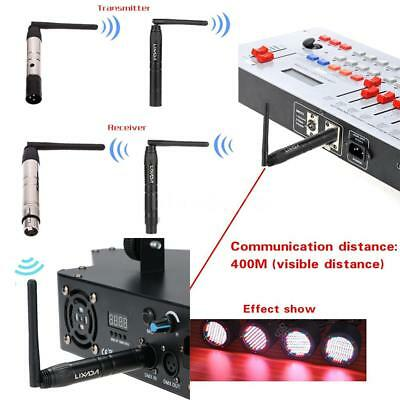 2.4G ISM DMX512 Wireless Male & Female Receiver & Transmitter Rechargeable V6Q1
