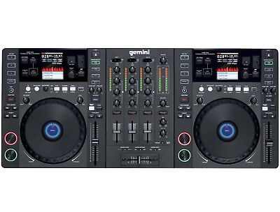 Gemini CDMP-7000 - CD-Player Mixer DJ Mix Workstation DJ-Set Media-Controller