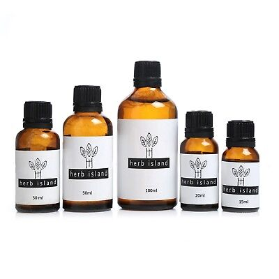 Herb Island ESSENTIAL OILS 100% PURE NATURAL AROMATHERAPY OILS 15MLTO 100ML