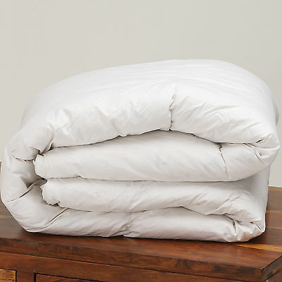 Luxury Pure Siberian Goose Feather & Down Hotel Quality Double Bed Duvet All Tog