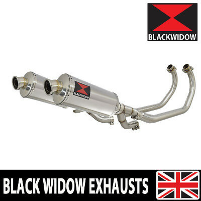 V-MAX VMAX 1200 VMAX1200 VMX Exhaust System 300mm Oval Stainless Silencer 300SS