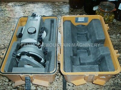 Theodolite Topcon TL20P Good optics working but needs tidying so sold for spares