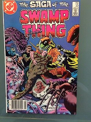 SWAMP THING #22, DC 1984 ,9.0 VF/NM, Alan Moore,Combined Shipping!
