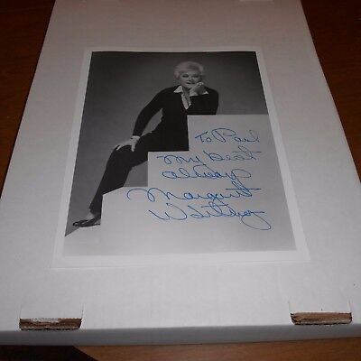 Margaret Whiting was a singer of American popular music Hand Signed Photo