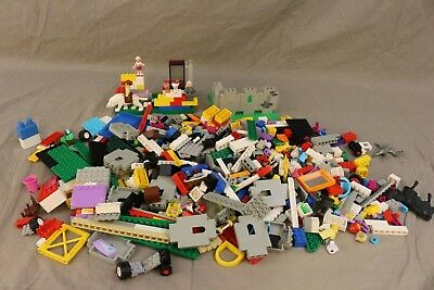 LEGO MIXED LOT of Building Bricks, Animals, Figures and Pieces Multicolor BUNDLE