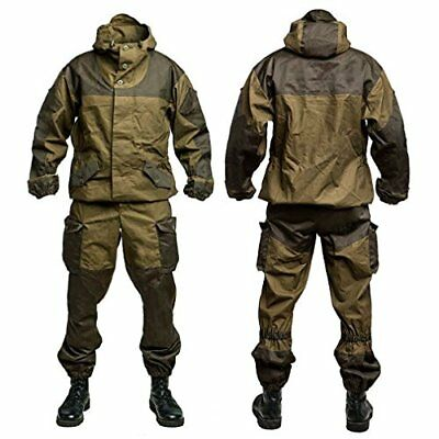 Suit Gorka 3 Demi-season Tent 100% Cotton Clothing for Army, Hunting & Fishing