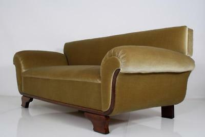 Magnificent French Art Deco Chaise / Sofa