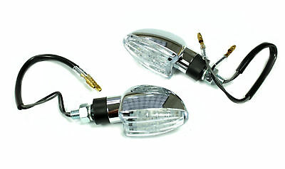 LED Mini Blinker chrom pas. Simson S51 S50 S70 S73 SR50 SR80 MZ TS150 Tuning