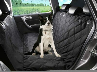 Waterproof Quilted Dog Car Seat Cover Backseat Large Pet Seat Cover Hammock Mat