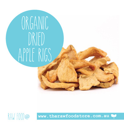 Organic Dried Apple Rings 100g