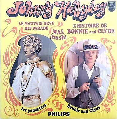 Johnny Hallyday CD Single L'histoire De Bonnie And Clyde - Numbered - France