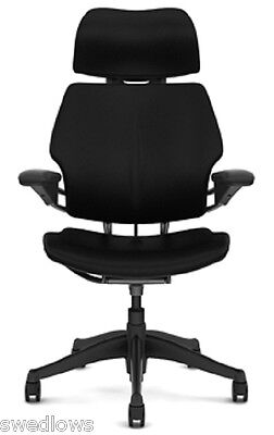 Humanscale Freedom Chair With Headrest,leather:u Choose Color
