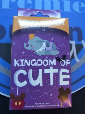Disney Kingdom Of Cute Mystery Pin UNOPENED BOX Contains 2 Two Pins