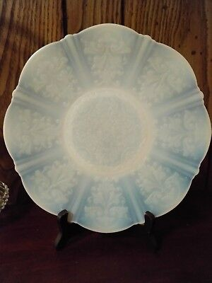 MacBeth Evans Glass American Sweetheart Monex White Depression Glass Plate