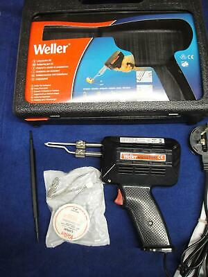 Weller 9200UDK Universal Soldering Gun Kit 100w New 2 Tips In Case Iron