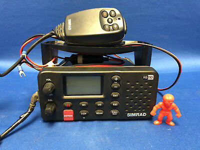 Simrad RS10 VHF Marine Radio Class D DSC Approved marine VHF Radio