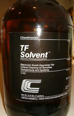 1 gal. Bottle of TF Solvent Electronics Cleaner/Degreaser (Chemtronics C180)